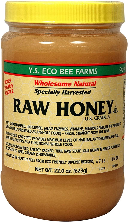 2. Y.S Eco Bee Farms Raw Honey U