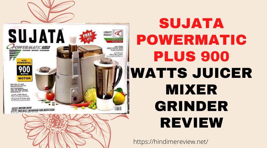 Sujata Powermatic Plus 900 Juic